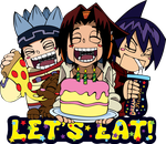 Let's Eat! by Dezu-the-Shaman