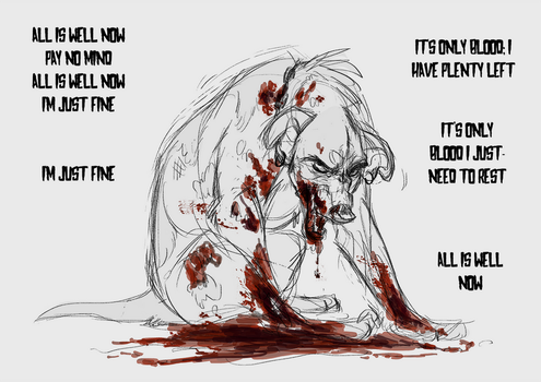 It's Only Blood by faithandfreedom