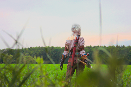 Cirilla from Witcher Wild Hunt Cosplay by psiaknorris