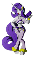 Rarity kick ass version by Animewave-Neo