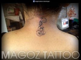 llave musical pequena by magozo