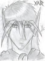 Xar's Face by Draxen
