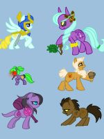 My Little Alliance Ponies by Naur