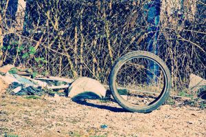 lonely tire by rayxearl