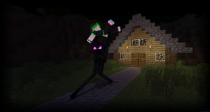 Kidnapped by an Enderman by LockRikard