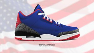 Air Jordan 3 Retro 88' 'USA' by BBoyKai91