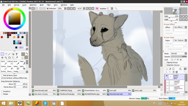 Trico Wip by VALerieEclipse