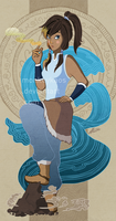 Avatar Korra by monkeykaos