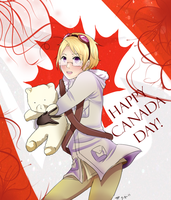 Canada Day by Ilovehikarukaoru