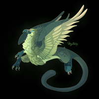 Titanite Griffon #70 by Mythka