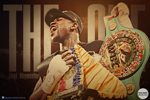 Floyd Mayweather THE ONE wallpaper by RafaelVicenteDesigns