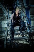 Cloud Strife - take it easy by YamiNoShadow