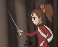 Day 61 - Arrietty's Sword by LinkSketchit