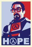Freeman - Hope Poster by EspionageDB7
