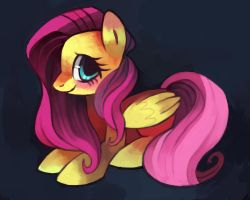 Fluttershy by Dhui