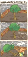 PKMNC- The Town Tree by SilkenCat