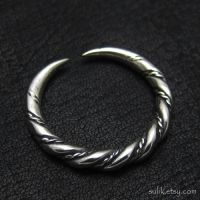 Silver Viking ring from Gotland by Sulislaw