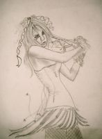 Emilie Autumn uncolored by xasylumx