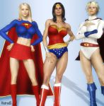 DC's Triple Threat by hotrod5