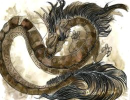 -Chinese dragon year- by luzan