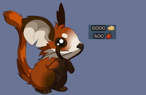 Red Panda fur by Katina-The-Mouse
