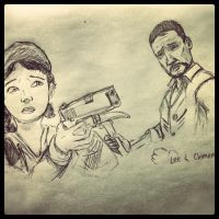 Lee And Clementine: The Walking Dead Game by Drawception