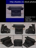 Typewriter Stock Package-High by mercyop