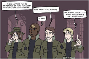 Stargate SG-1 - alien WHAT??? by Bowie-Spawan