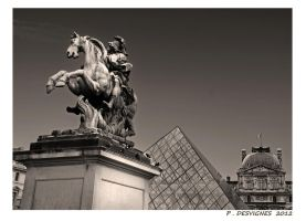 Louvre perspective by bracketting94