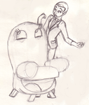Pee-wee Chairy sketch by Takineko