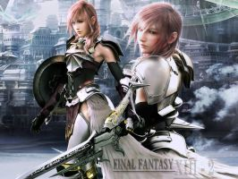 final fantasy xiii-2 lightning by LumenArtist