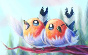 Good Morning Song (A pair of Fletchling/Yayakoma)