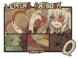Letters Artbook - Q by pidies