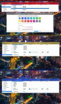 Colored Themes add to Macosx LynX  for Windows 10 by ZEUSosX