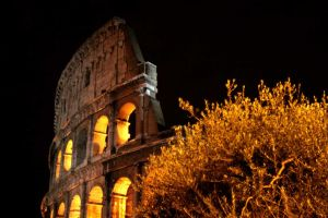Rome Colosseum by habito