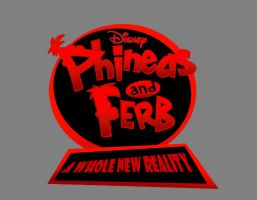 Phineas and Ferb A Whole New Reality Logo by RedJoey1992