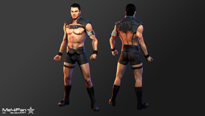 ME3 Kaidan - Outfit Mesh Mod (Blender Cycles) by Me4Fan