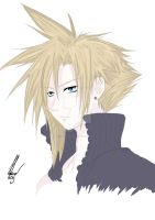 Cloud Strife by AfflictionArt