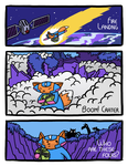 Spacefox Page 4: Fire Landing by Starflier