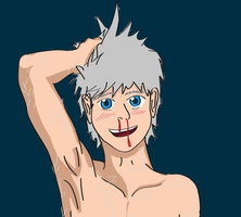 Jack Frost Nose Bleed by MetalJacksonFire