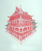 Chinese Corner House by pandaora