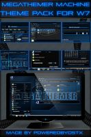MegaThemer Machine theme Pack for Windows 7 by poweredbyostx