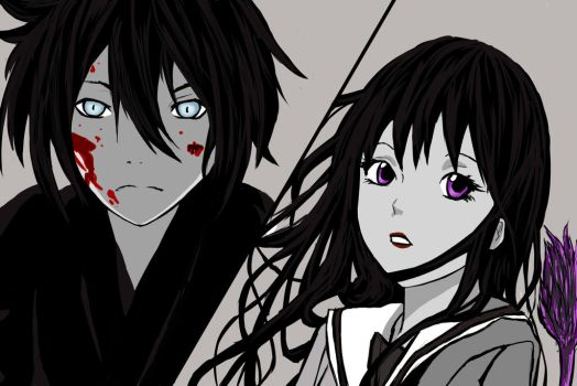Yato and Hiyori by Risabug18