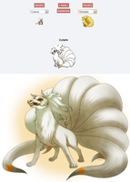 +Pokemon Fusion: Cutails+ by kuraudia