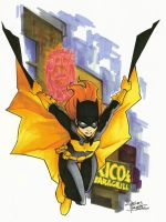 marker: Batgirl by KidNotorious
