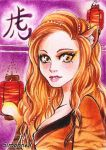 Chinese zodiac sign TIGER by SimonneX