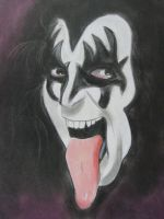 gene simmons by troeks