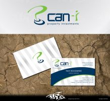 Can-I 'logo+Business card' by pentatonic-ripper