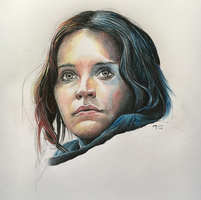 Jyn Erso in Rogue One: A Star Wars Story by PatrickRyant