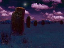 stone circle by shweebie